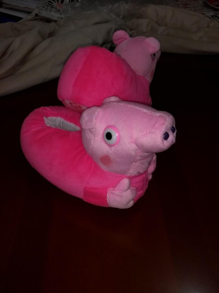Babuchas Peppa Pig Talla 24 Nuevas