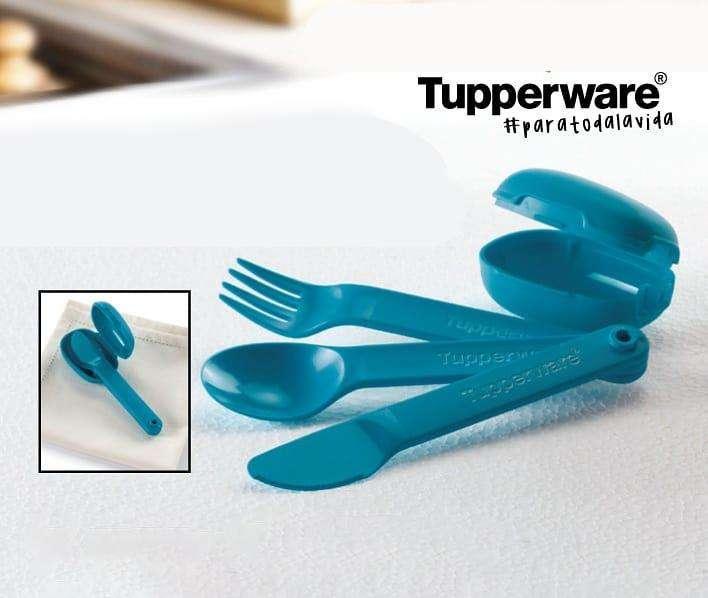 Tupperware Porta Cubiertos Set De Cubiertos