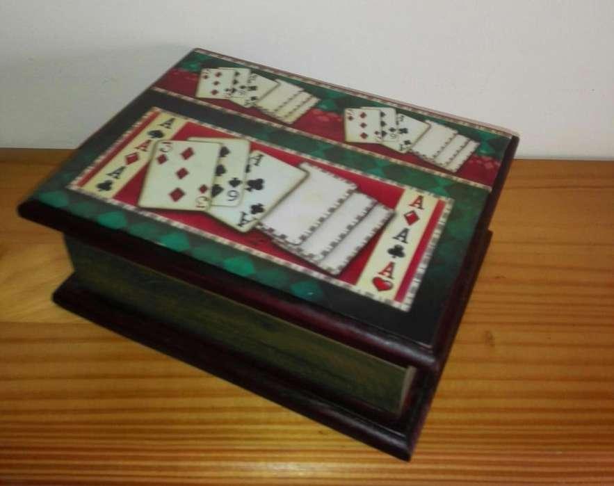 Caja para Naipes en MDF 3 diseños disponibles