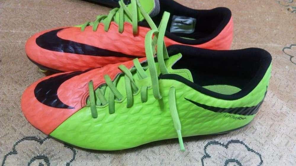 Vendo botines Nike Hypervenom