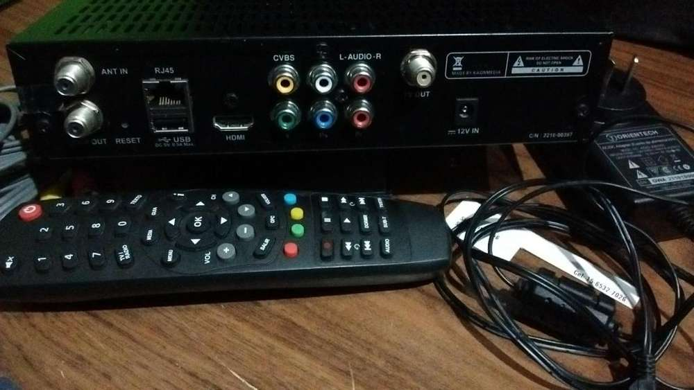 decodificador,receptor para acceder a televicion abierta TDA