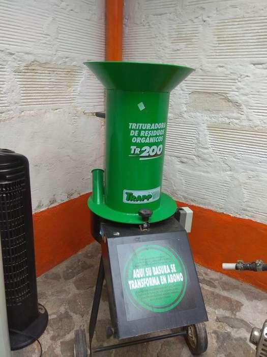 Triturador De Residuos Organicos Tr 200