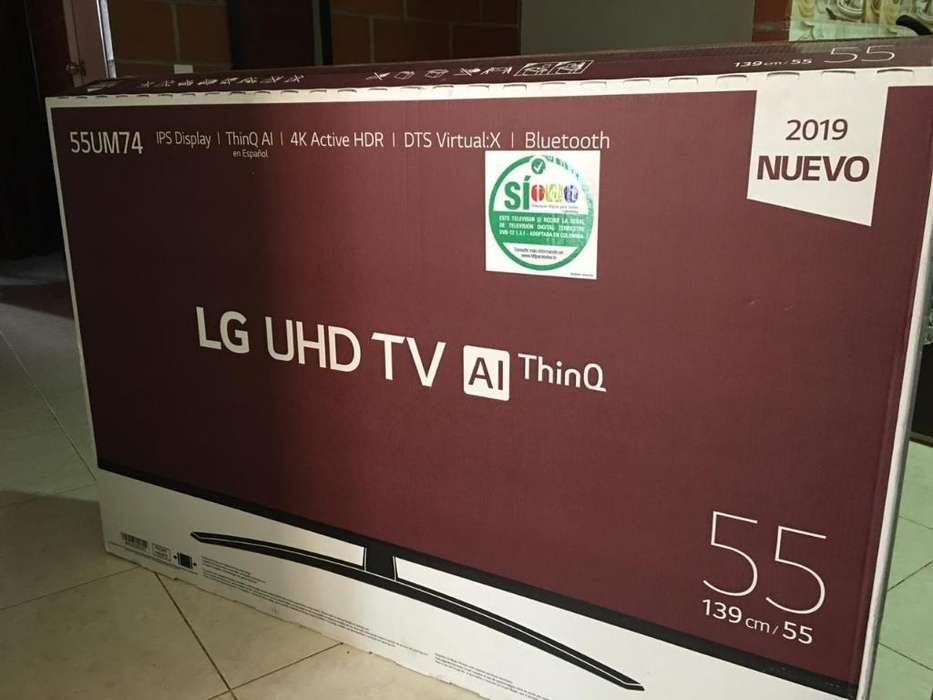 Televisor Lg Smart Tv de 55 Pulgadas