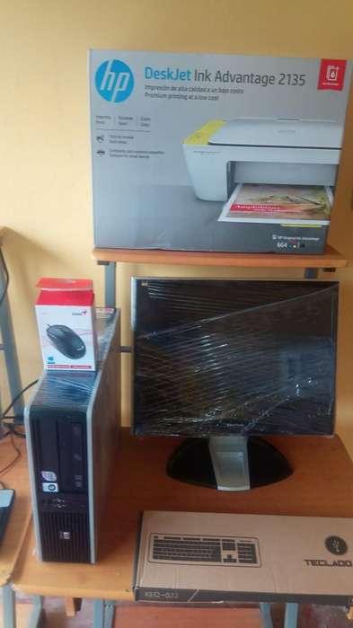 Combo Computadora con Impresora