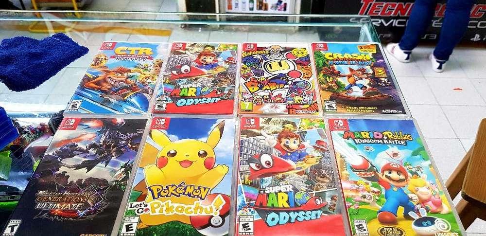 Juegos Nintendo Switch Segunda para Camb