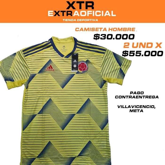 Camiseta Seleccion Colombia 2019 Villavicencio, Meta Ultimas unidades