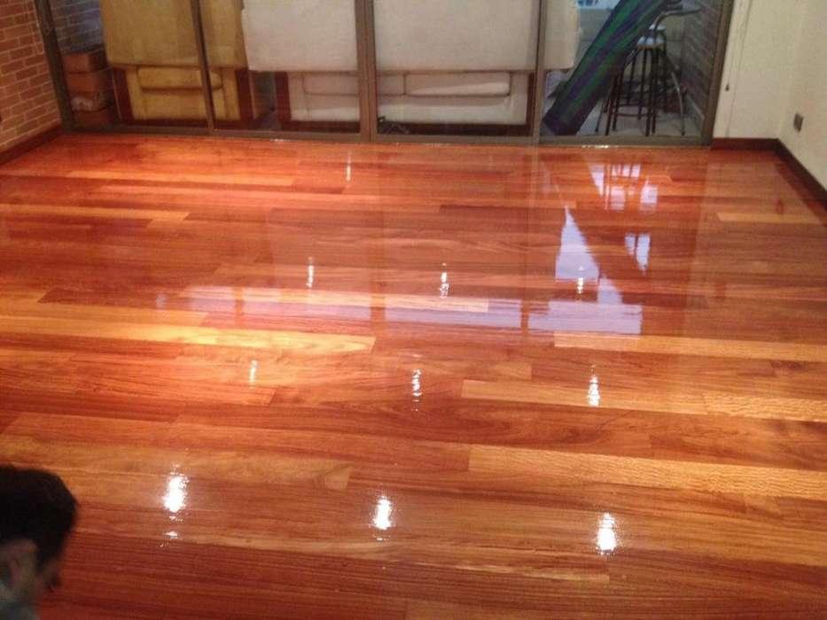 pisos en madera instalacion y pulida