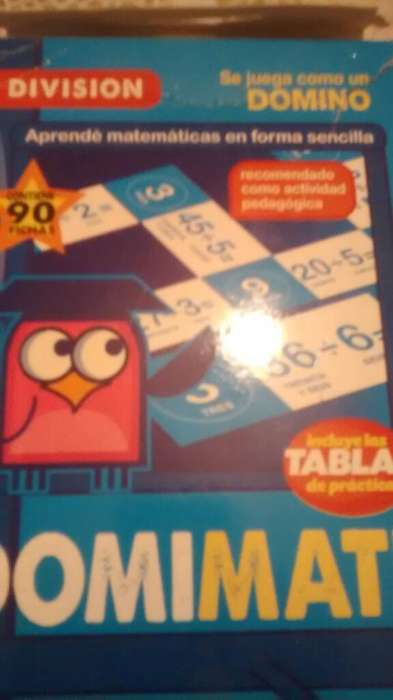 Domino Aprender a Dividir 90 Fich Carton