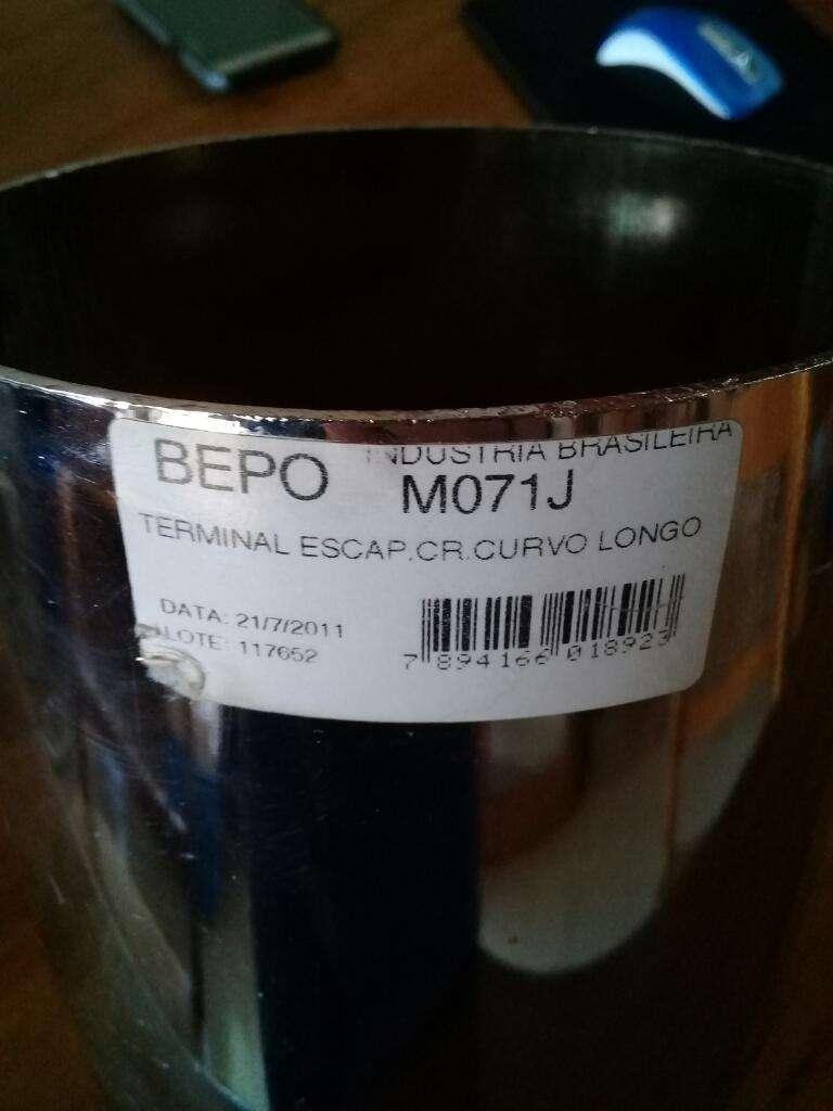 Vendo Terminal de Escape Curvo 5 Nuevo