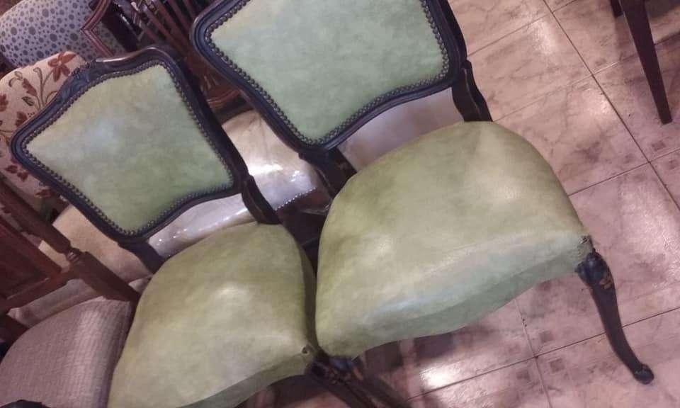 4 elegantes sillas de estilo FRANCES