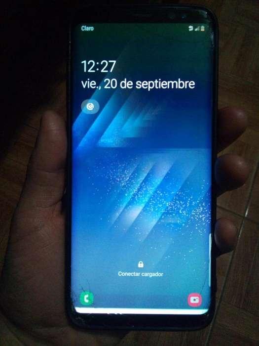 VENDO SAMSUNG S8 ORIGINAL Detalle Glass