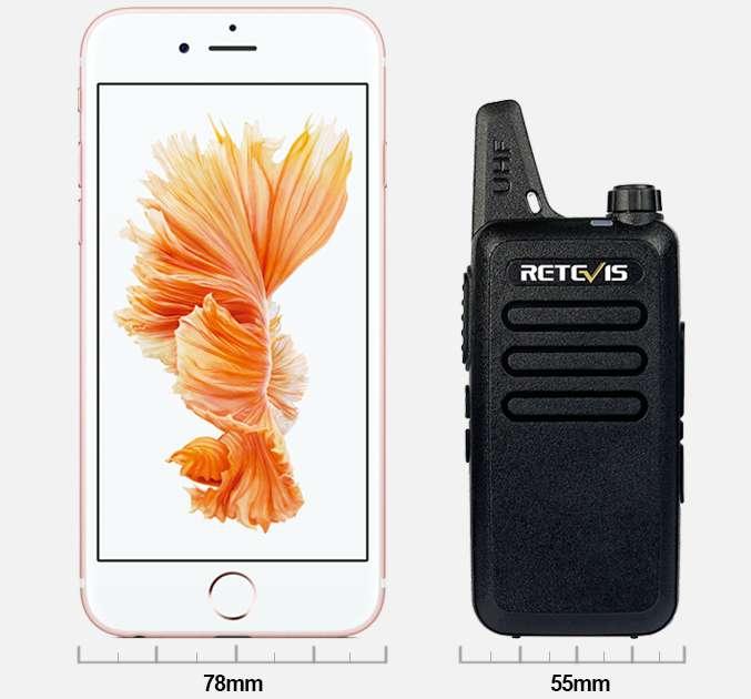 2X RADIOS DE COMUNICACIONES RETEVIS RT22 2W FRECUENCIAS INTINERANTES MIN TIC ENTREGA INMEDIATA