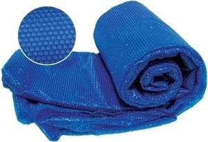 Manta termica flotante para piscinas o jacuzzi adaptables a cualquier tamaño y forma