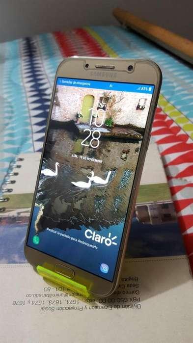 Samsung A7 2017, 32gb, 5.7 Pulg Fhd, Octa-core, Touch Id, 4g