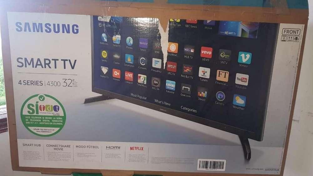 Se vende Tv 32 samsung smart tv