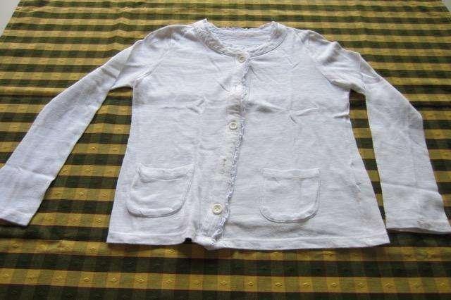 Saquito blanco de algodón, <strong>cheeky</strong>!!! Excelente estado!!!