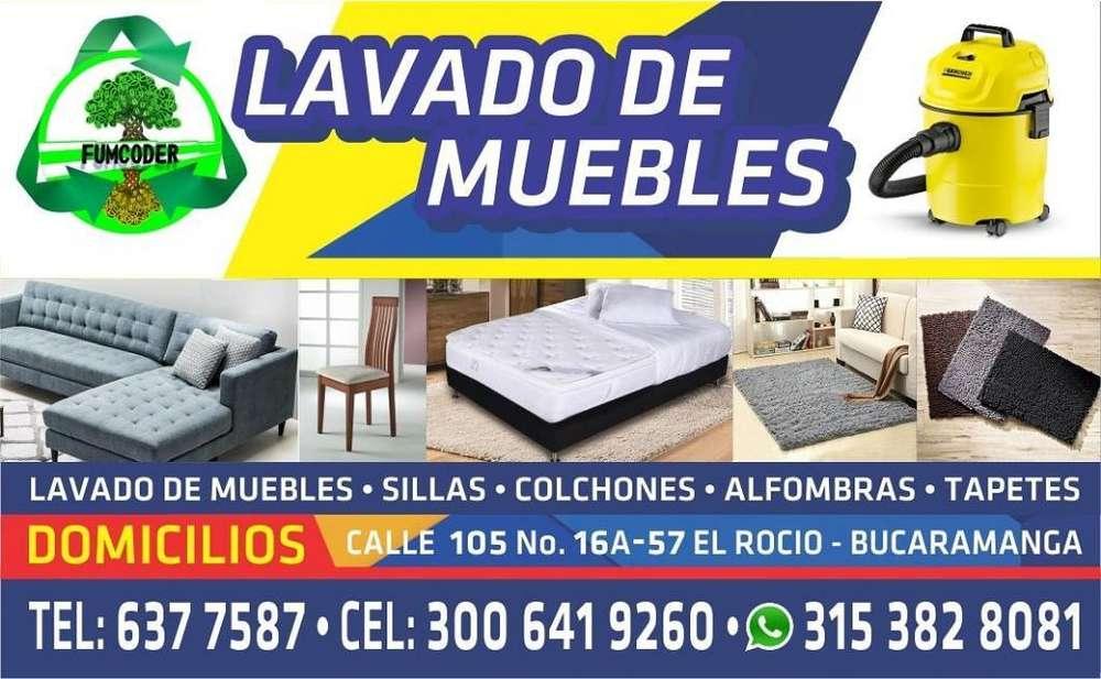 Lavado Desinfeccion Muebles