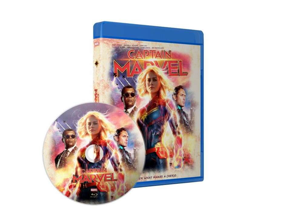 Capitana Marvel Bluray Latino/ingles Subt Español