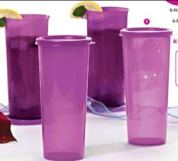 Vasos Maravilla (4) Tupperware