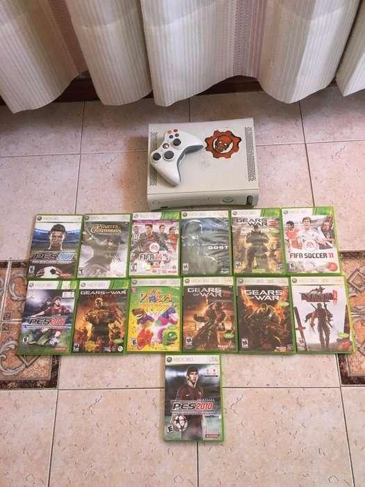 xbox 360 se entrega con sus 13 juegos