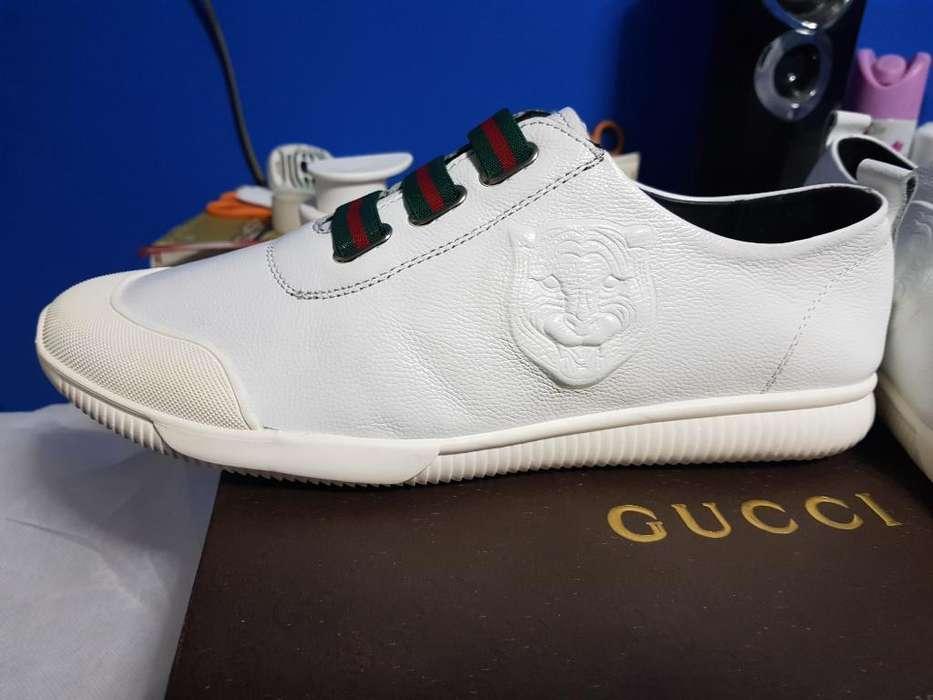 0472a1bf40f Zapatillas Gucci talla 42
