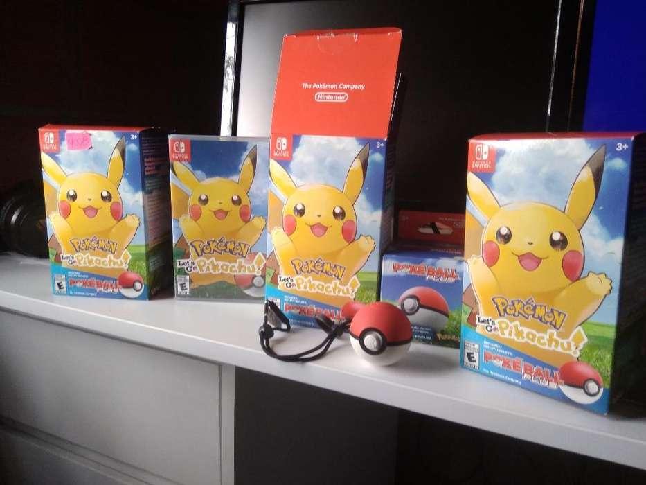 Pokemon Let's Go Pikachu Pokeball Plus