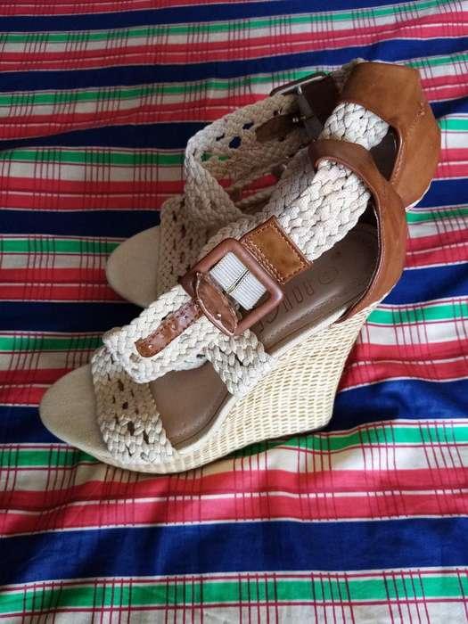 Zapato Americano Magnolia Como Nuevo