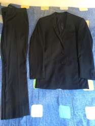 Vestido de Paño Talla 30 Azul Oscuro