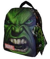 Maleta escolar Iron Super Héroes Bolso Marvel Comics Original