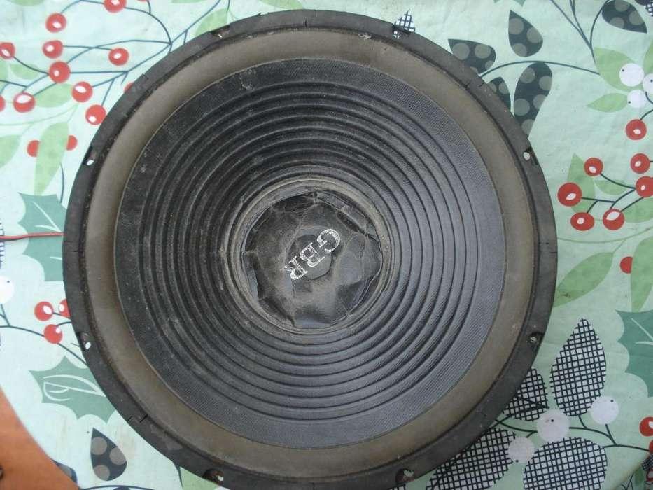 Woofer Gbr 15 Rsw1520 300w Rms. Para Reparar Bobina Abierta