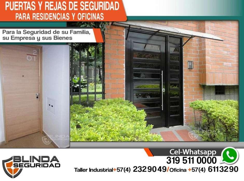 REJAS Y PUERTAS DE SEGURIDAD para Residencias y Oficinas- Con Cerraduras de Alta Seguridad o Biométricas