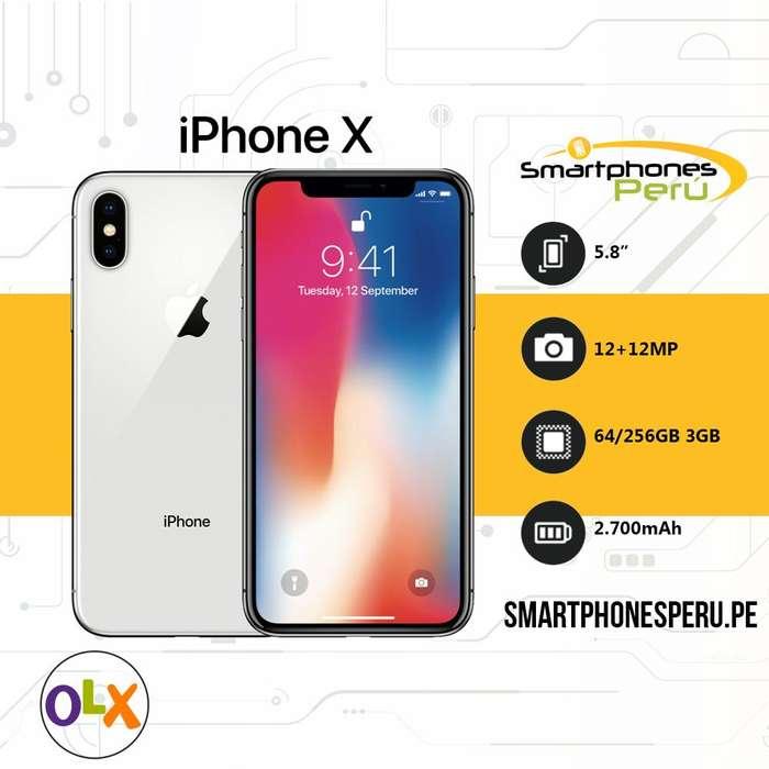 Celular Iphone X 64GB •Equipos Originales• Smartphonesperu.pe