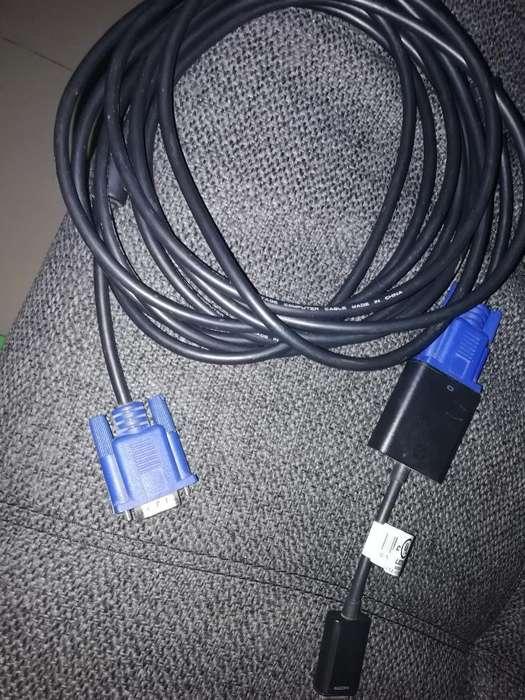 Cable Convertidor Adaptador Y Cable Vga