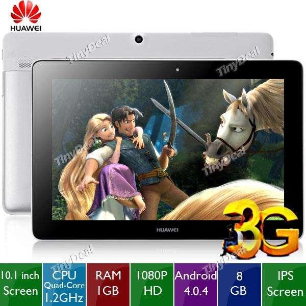 Tablets Huawei Mediapad 10.1. Link 3G. Usadas en caja.