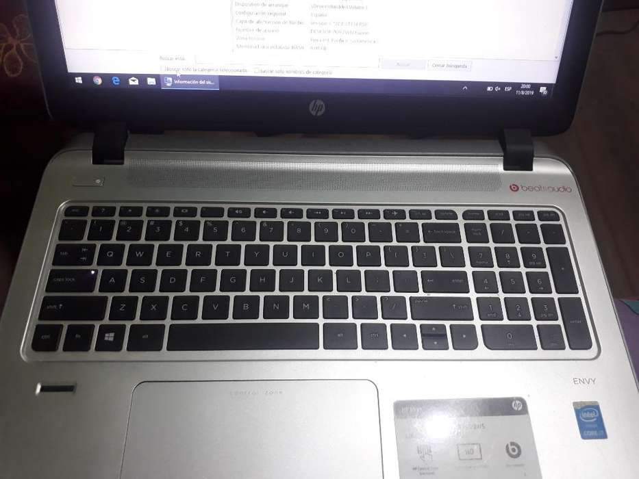 Laptop Hp Envy 15 1 Tera de Disco
