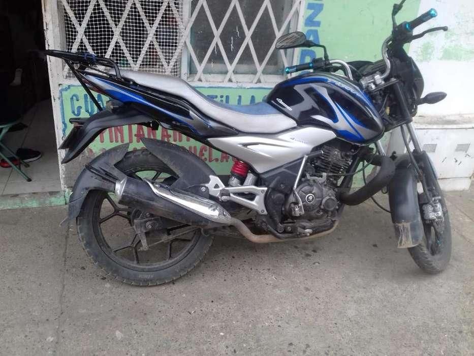 Vendo Moto 125. 2014 Y Al Dia hasta 2020