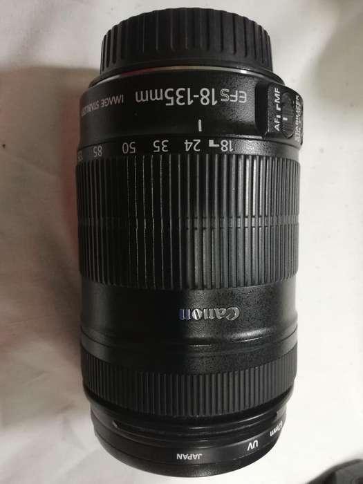 Lente Canon 18 135 Mm Perfecto Estado