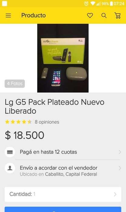 Lg G5 Usado Claro Vendo O Permuto