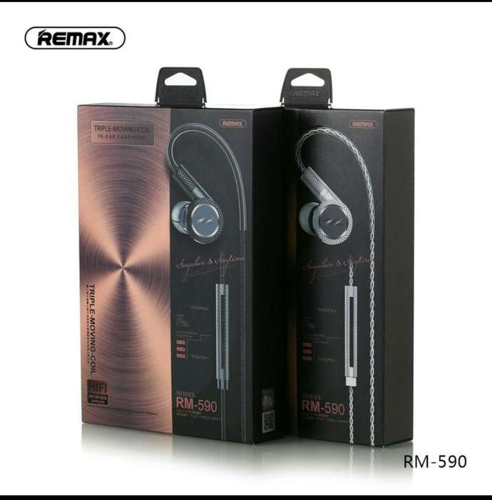 Auricular Remax Rm590 Monitoreo 3 Bobina