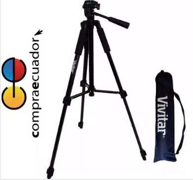 Vivitar Trípode Para Cámaras Filmadoras Profesionales 1.35mt