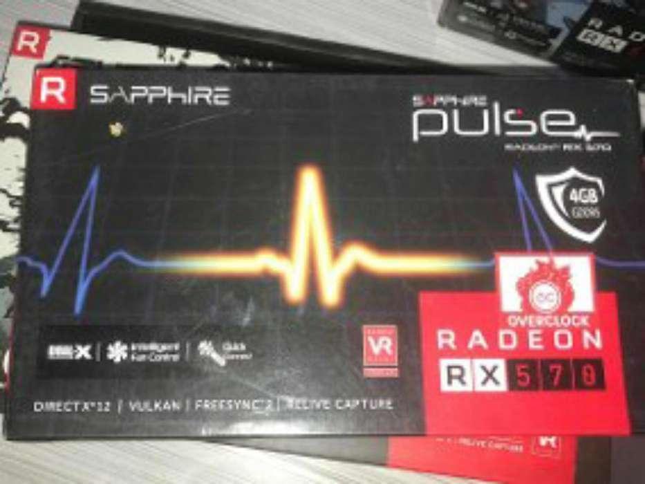 Tarjeta Rx 570 Sapphire 4gb Ddr5