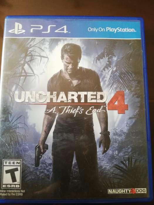 Juego de Ps4 Uncharted 4