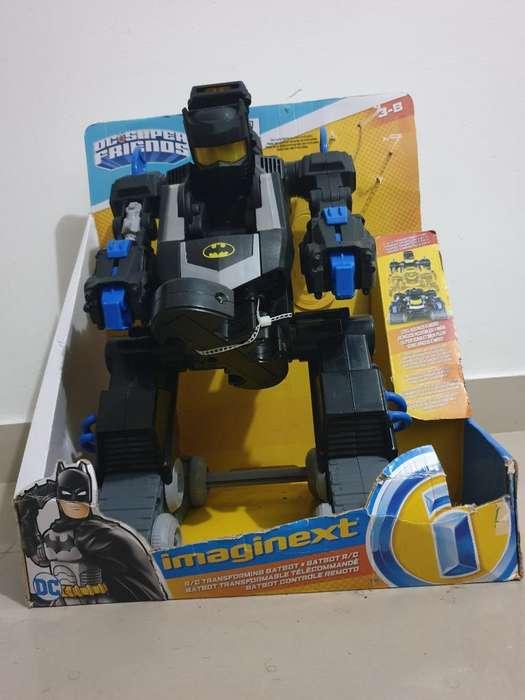 Juguete robot Batbot Imaginext en Su Empaque