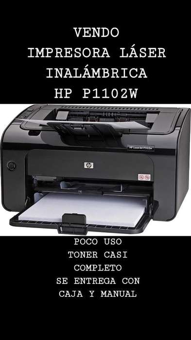 Impresora Láser Hp Laserjet P1102w