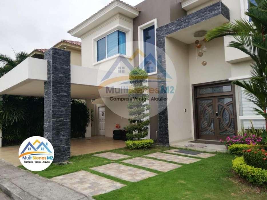Venta Casa Amoblada en <strong>estancia</strong>s del Río, Vía Samborondon cerca C.C. El Dorado, PLaza Batan