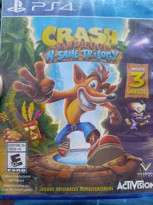 Crash Bandicoot Ps4 Fisico
