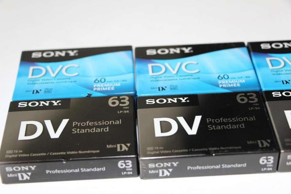 Sony 60minute Minidv Cassette Tape c/u