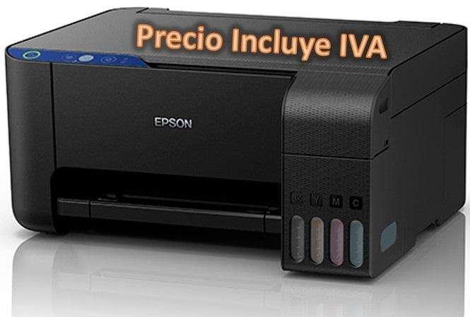 Multifuncion Epson L3110 L380 L220 Sistema Tinta Continua Original PRECIO INCLUYE IVA ENTREGA A DOMICILIO