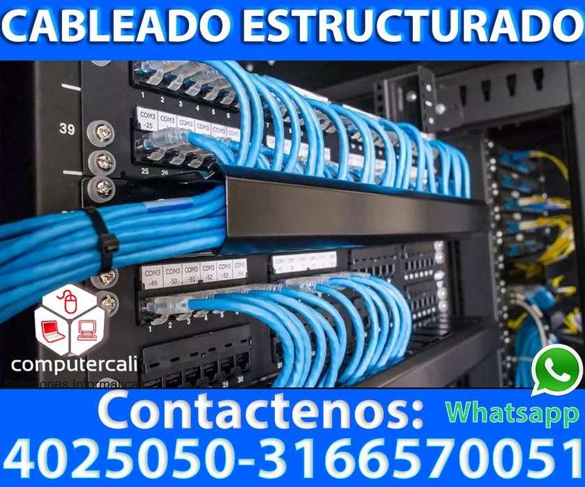 Cableado estructurado en Cali Tel: 4025050 3166570051 whatsapp