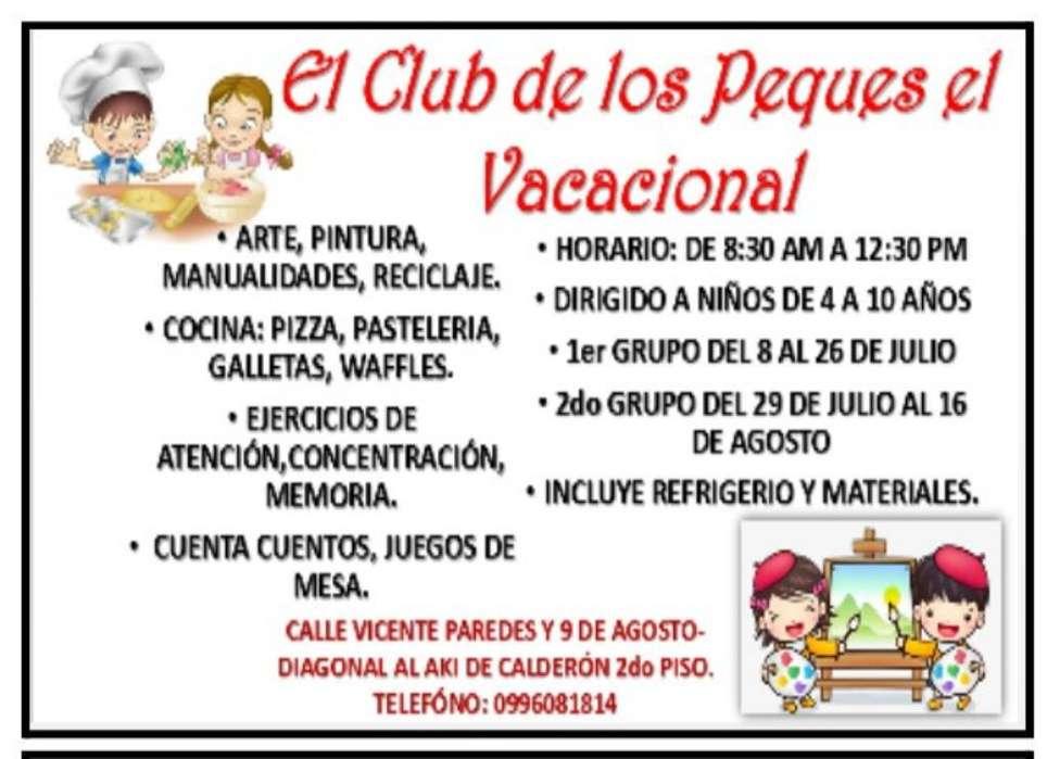 El Club de Los Peques El Vacacional